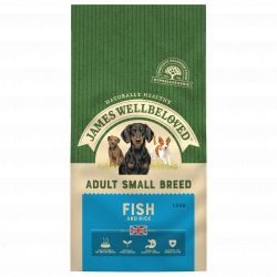 JAMES WELLBELOVED Fish & Rice Adult Small Breed 1.5kg