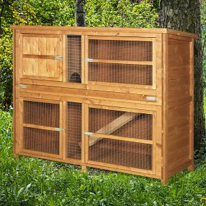 4ft Chartwell Double Luxury Rabbit Hutch